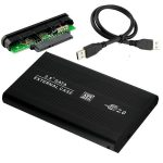 """2,5"""" USB 2.0 IDE ház, külső HDD tok"""