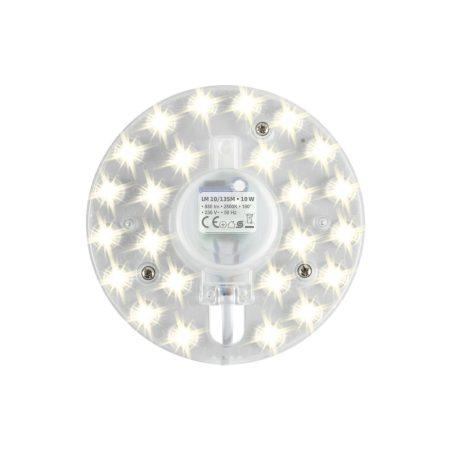 Beépíthető UFO lámpa LED modul 12W - Meleg fehér