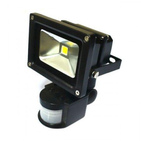 20W LED reflektor, fényvető mozgásérzékelővel - hideg fehér
