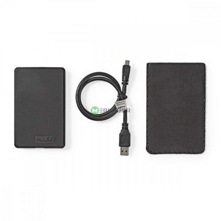 """2,5"""" USB 3.0 SATA ház, külső HDD / merevlemez tok"""