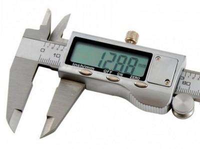 Fémházas digitális tolómérő 150 mm
