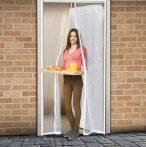 Mágneses szúnyogháló ajtóra - fehér