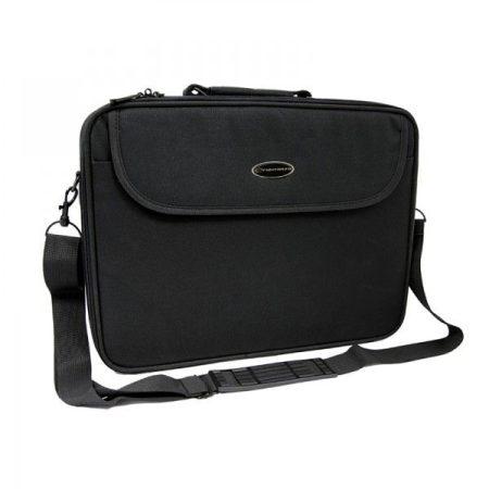 """Fekete notebook, laptop 15.6"""" táska vállpánttal"""