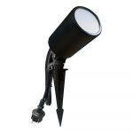 Leszúrható kültéri mini reflektor, kerti LED lámpa 230V - zöld