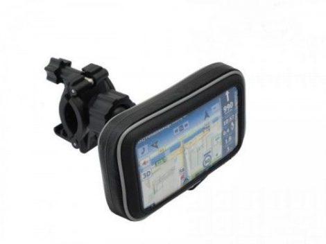 """Vízálló motoros GPS, -telefon tartó 3.5 - 4,5"""""""
