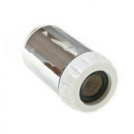 Elemes LED világítású csapvég, színváltós csapfej