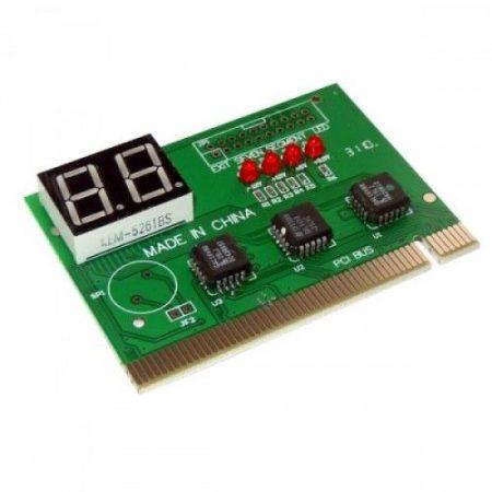 PC analizáló kártya, PCI alaplap hibakód teszter