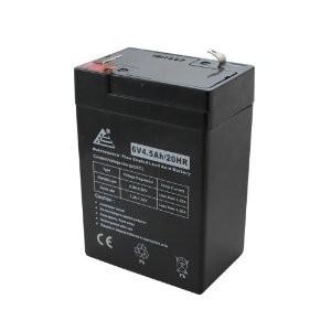 Zselés akkumulátor 6V / 4,5 Ah akku