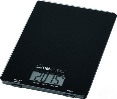 Clatronic KW 3626 extra vékony digitális konyhai mérleg