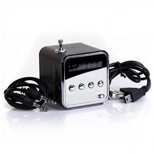 Hordozható MP3 lejátszó FM rádió-val
