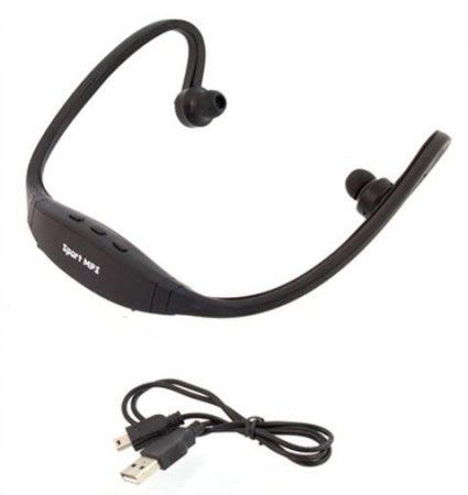 Vezeték nélküli sport MP3 lejátszó