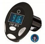 Autórádió FM transmitter MP3 USB-ről