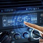 MNC Phantom Touch érintőképernyős MP3 lejátszó autórádió SD / USB olvasó