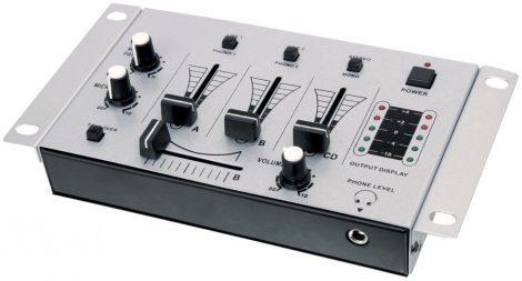 3 csatornás keverőpult mixer, DJ keverő
