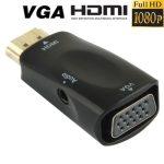 HDMI VGA átalakító adapter + audió kábel