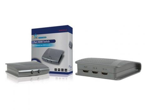 2-es HDMI kapcsoló elosztó