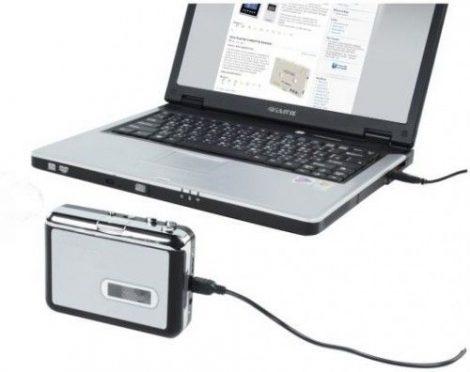 Magnó kazetta digitalizáló MP3 lejátszó