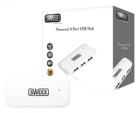 USB aktív elosztó hub táppal