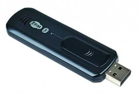 Gembird USB WiFi + bluetooth vevő antenna adapter