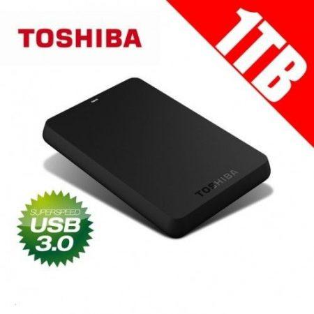 """Toshiba Canvio 2,5"""" winchester külső HDD merevlemez 1 TB, USB 3.0"""