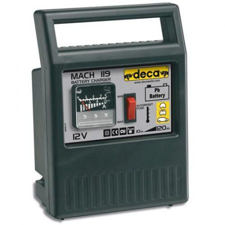 Deca MACH 119 12V autó akkumulátor töltő