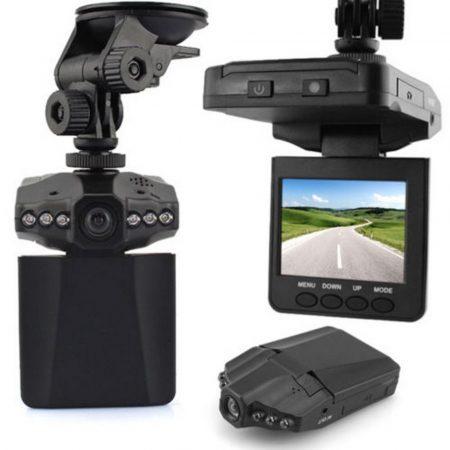 Autós menetrögzítő HD kamera DVR / fekete doboz