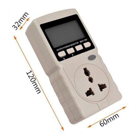 Digitális fogyasztásmérő 2kW-ig