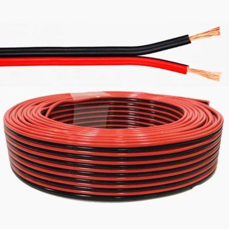 Hangszóró, hangfal kábel 2 x  0,75 mm 10m