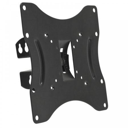 LCD TV fali tartó konzol 23 - 42 coll (dönthető, forgatható) - Fekete
