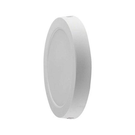 LED panel 12W lámpa tápegységgel - természetes fehér - kerek