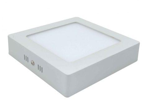 LED panel 18W lámpa tápegységgel - természetes fehér - négyzet