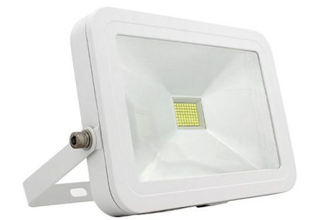 Prémium slim 30W SMD LED reflektor - meleg fehér