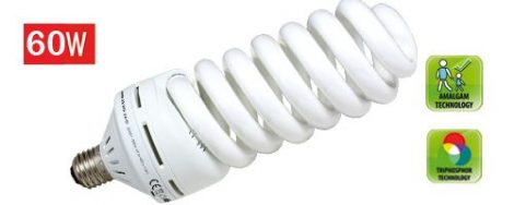 Energiatakarékos izzó, 60W / E27 / 4200K