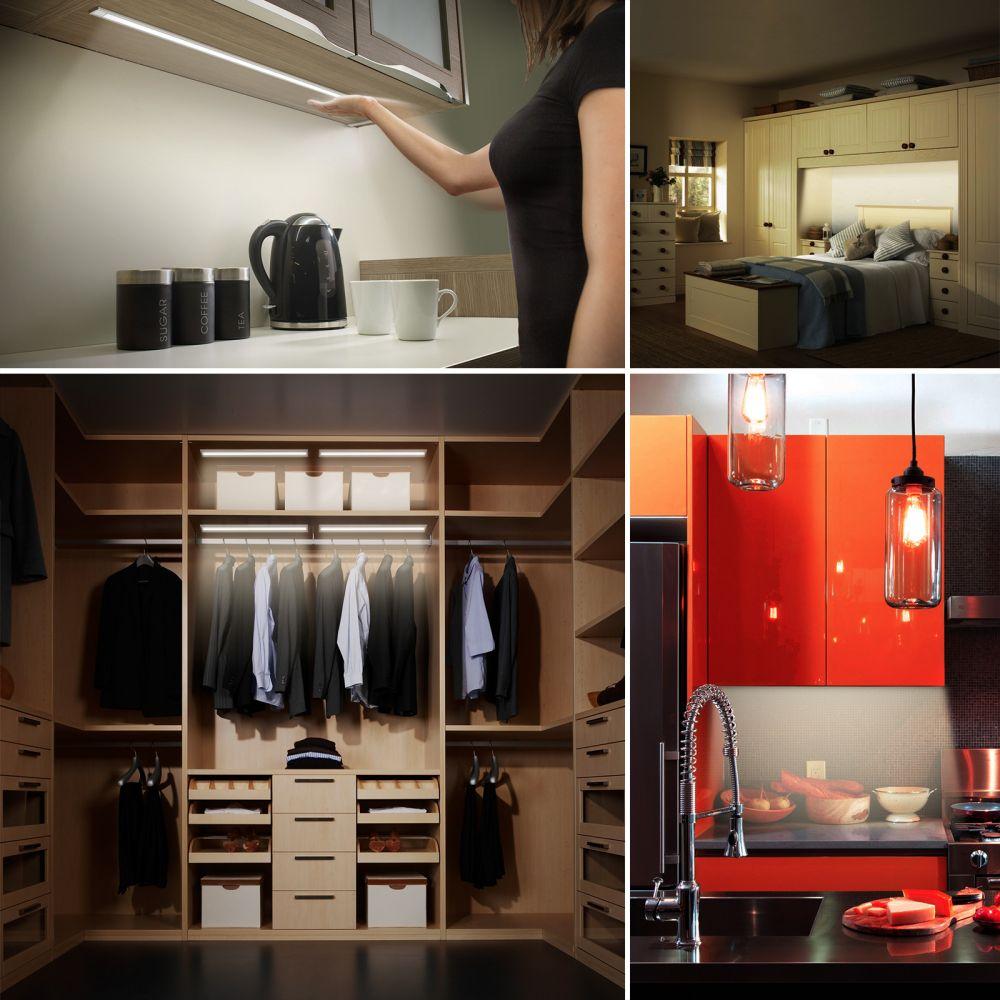 Érintés nélkül szabályozható LED lámpatest