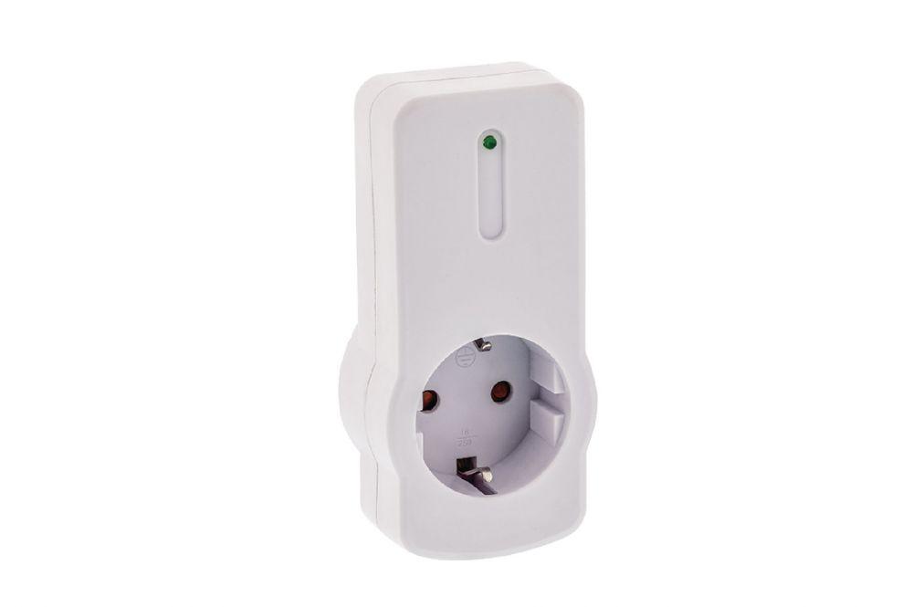 Vezeték nélküli konnektor készlet távirányítóval, 4 részes