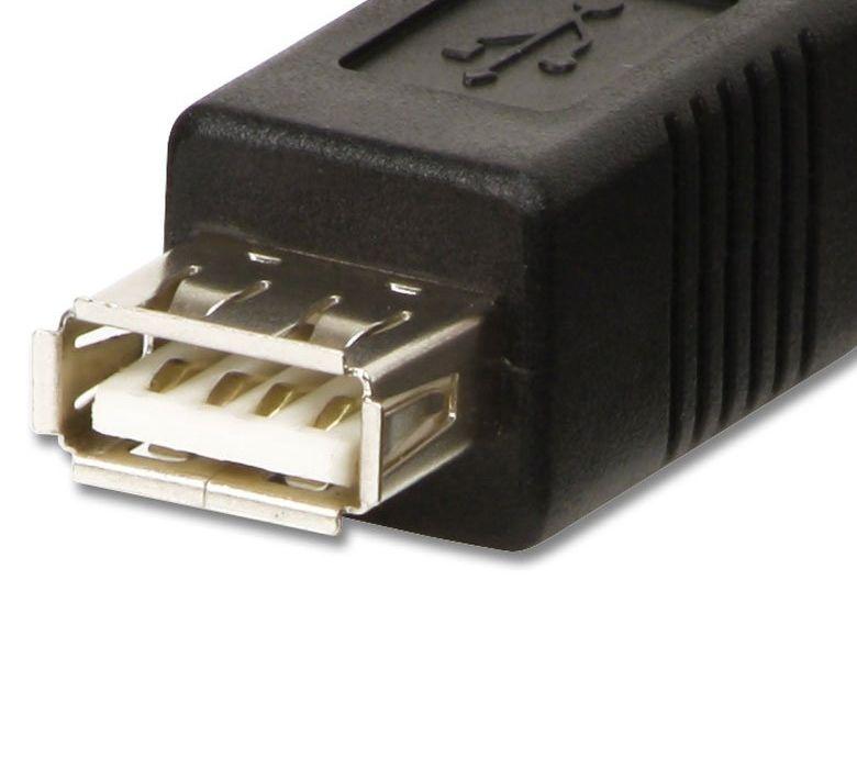 A USB anya - B mini USB apa kábel 1m
