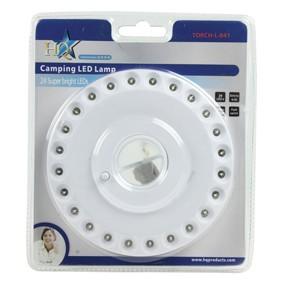 Sátorlámpa, kemping lámpa 24 db LED