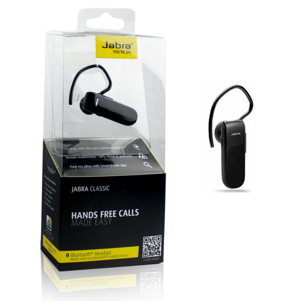 Jabra Classic Bluetooth headset v4.0 MultiPoint fekete