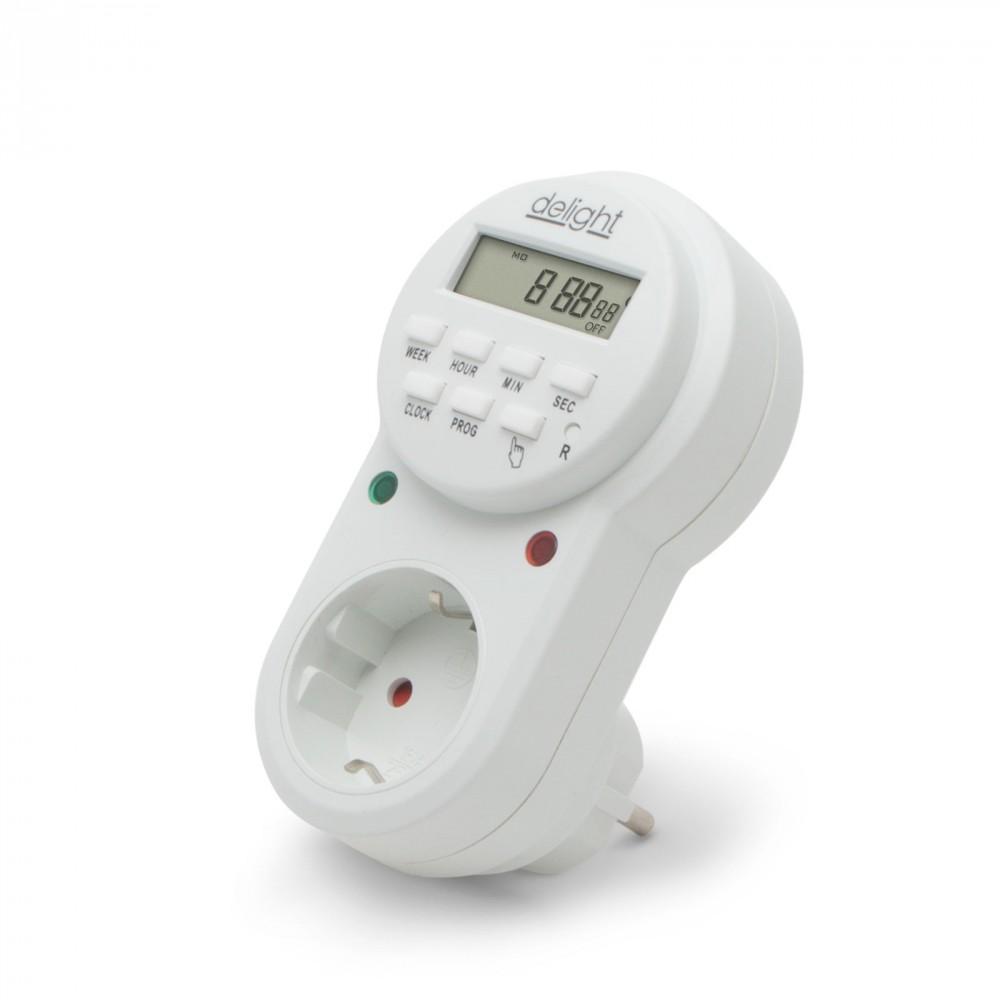 Digitális kapcsolóóra / beltéri időzítő kapcsoló aljzat 3680W