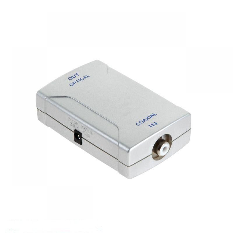 MK0855 RCA - Toslink optikai kábel átalakító adapter