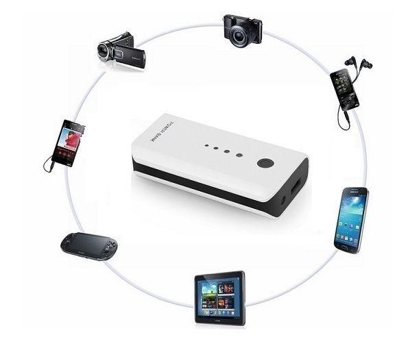 Univerzális külső akkumulátor, Samsung, iPhone 5/6 vésztöltő - 5200 mAh