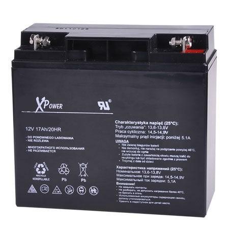 12V 17Ah zselés akkumulátor