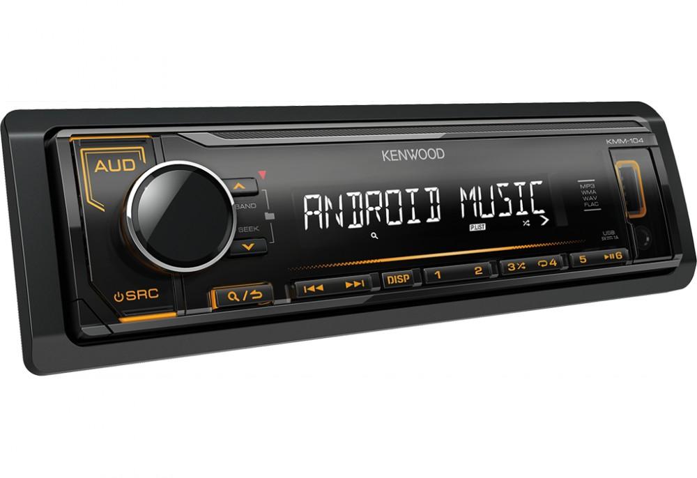 Kenwood USB/MP3 lejátszó autórádió - KMM-102AY