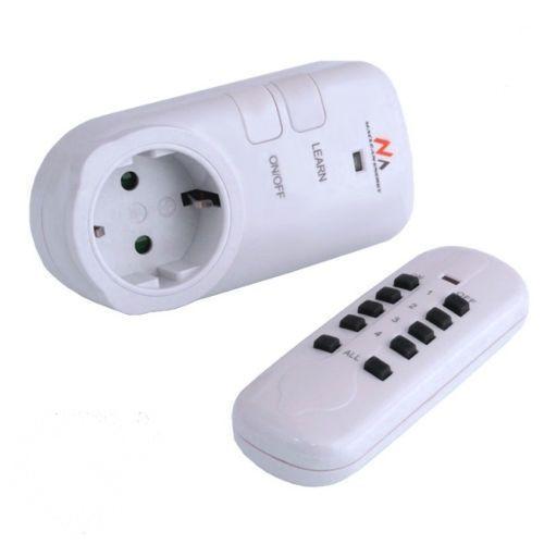 Távirányítós konnektor-dugalj szett távirányítóval - MK26G