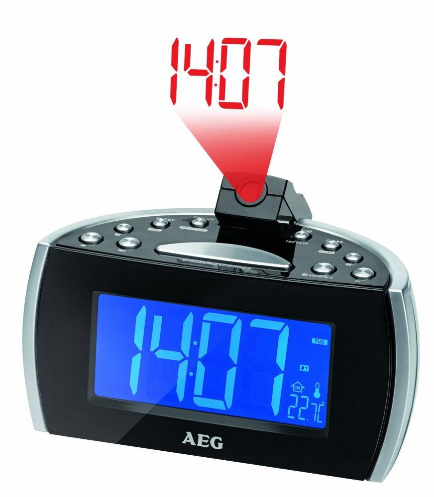 AEG MRC4119 kiveítős, projektoros óra