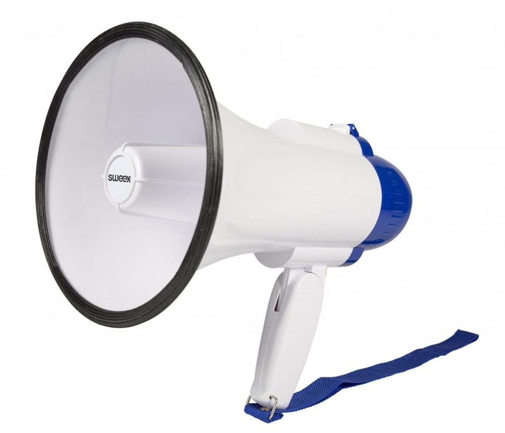 Hordozható,megafon hangosbeszélő 10W - 200m