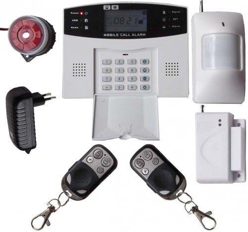Vezeték nélküli GSM hívós riasztó rendszer