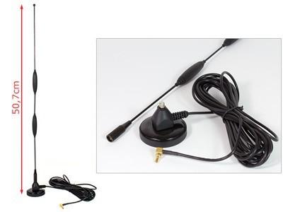 Mágneses 3G jelerősítő antenna 11dBi