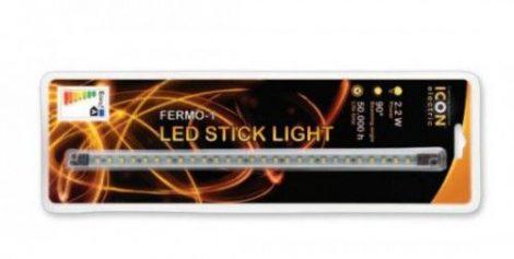 Bútorvilágító 3528 SMD LED pálca tápegységgel