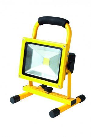FLB 20 LED/YE 20W akkumulátoros hordozható LED reflektor